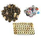 200 Sets Magnetic 14mm Fastener Snaps Clasps For Purse Bag Craft Sewing Button