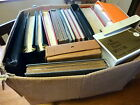 GB, HUGE STAMP ESTATE COLLECTION, 12x OLD ALBUM+ MORE (LARGE BOX) CAT FACE VALUE