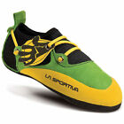 LA SPORTIVA Kids' Stickit Climbing Shoes, Green/Yellow