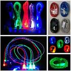 LED Glow USB Light-up Data Sync Charger Cable For Samsung/HTC/LG Android phone