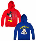 Boys Official Mickey Mouse Hooded Sweatshirt New Kids Tracksuit Hoodie 3-8 Years