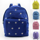 Leisure School Backpacks Student Canvas Satchel Girls' Rucksack Polka Dot Bag