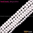 """Natural White Sea Shell Beads For Jewelry Making 15"""" Flower / Twist-shaped"""