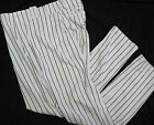 NEW YORK YANKEES GAME USED AUTHENTIC MAJESTIC BASEBALL PANTS PINSTRIPE