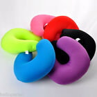 Travel Memory Neck U Shaped Pillow Headrest Airplane Car Soft Nursing Cushion