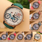 JP 1PC  New Fashion Canvas Bike Quartz DIY Bracelet Watch For Women
