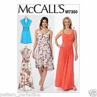 McCall's 7350 Sewing Pattern to MAKE Misses' Gathered Scoop Neck/Surplice Dress