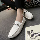 2016New Leather Casual Driving Slip on Loafers Moccasin Breathable Mens Shoes