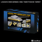 LionRoar LAS35014 1/35 WWII German King Tiger Posche Turret Detailing Set