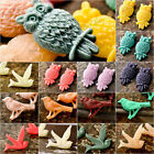 Resin Animal Bird Owl Vintage Flatback Cabochon Wholesale Lots RB0595