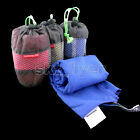 Outdoor Travel Camping Microfiber Quick-Drying Towel Shower Sport Swim Beach