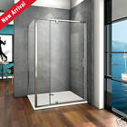 760 800 900 Pivot Hinge Shower Door Enclosure Side Panel Screen Tray Nextday Del