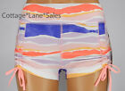 NEW LULULEMON Liberty Short 2 4 6 8 10 Bleacher Stripe Iris Flower Bleach Coral