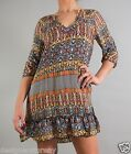 Tolani Gina Mini Dress Long Tunic in Multi size S 8638