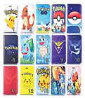 3D Pokemon GO Pikachu Flip Leather Wallet Cover Case for iPhone 4 5 5s 6 6s Plus