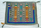 Vintage WOOL NATIVE AMERICAN NAVAJO RUG MARIE BENALLY TOBE TURPEN GALLUP NM