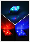 New Waterproof YD164 5-LED 7-Mode Rhombus Warning Bicycle Tail Lamp Rear Light