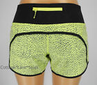 NEW LULULEMON Run Times Short 4 6 8 10 12 Dottie Dash Clarity Yellow Black Gym