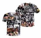 ■■ Gene Wilder Characters Collage T-shirt # A195
