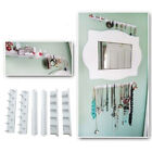 9 PCS Adhesive Wall Mount Jewelry Hooks Holder Storage Set Organizer Display