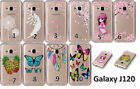 Fashion Painted Pattern Clear Crystal Hard Case Cover For Samsung Galaxy Phones