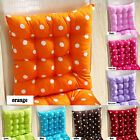 Chair Cushion Pads Soft Home Office Square Cotton Polka DotSeat Buttocks Cushion