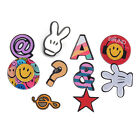 1 Set Decoration Collar Pins Women Gifts Accessories Kawaii Smile Brooches
