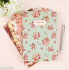 Pour Vous Blooming Flower Notebook School College Memo Line Note Study Journal