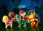 Paw Patrol Dog Flashlight Sound LED Light Lamp Keyring Key Chain Kids Gift Toy