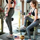Womens Yoga Leggings Active Clothes Workout Running Pants Gym Trousers Fitness