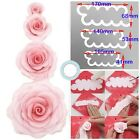 Easiest Making Rose Flower Cutter Fondant Icing Cake Decorating Modelling Mould