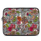 Zipper Sleeve Bag Cover - Doodles Color - Fits Most Laptops + MacBooks
