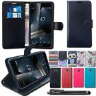 Flip Stand Wallet Leather Case Cover For Vodafone Smart Ultra 7 & Stylus Pen