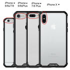 For iPhone X 7 8 iPhone8 Plus Case Protective Shockproof Hybrid Hard Cover Skin