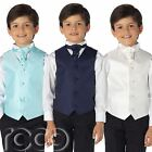 Boys Waistcoat Suits, Page Boy Suits, Wedding Suits, Boys Suits, Black Trousers