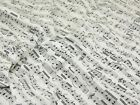 Timeless Treasures Musical Notes Quilting Fabric (C1693-Cream-M)