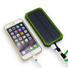 US 50000mAh Solar Energy Power Bank 6 LED 2 USB Battery Charger Pack For iPhone6