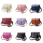Women Shoulder Bag PU Leather Handbag Tote Purse Messenger Crossbody Bag LAUS