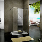 1200 Shower Enclosure Wet Room Screen Panel Tray Walk In Mirror Glass Bathroom