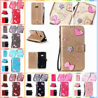 For Microsoft Nokia Lumia 535 Finished DIY Case Anti-lost Strap PU Leather Cover