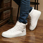 New Men's Breathable Shoes High Top boots Sport Casual Sneakers Running