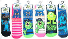Disney Monsters University Boy Girl  Slipper Socks Uk Size 3-5.5 6-8.5 9-12  New