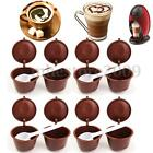 2/6/10X CAPSULES FOR DOLCE GUSTO RECHARGEABLE REFILLABLE REUSABLE COFFEE EMOHOME cheap