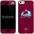 Colorado Avalanche Solid Background Apple iPhone 5c Skin
