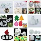 Christmas Fondant Cake Sugarcraft Plunger Icing Decorating Cutters Cookie Mould