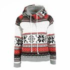 Women Vouge Christmas Winter Hoodie Sweatshirt Jumper Sweater Hooded Pullover