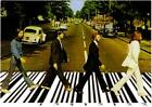 The Beatles Abbey Road All You Need is Stuff UPC Code Humor Postcard
