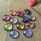 100pcs/lot Mix Domed Photo Glass Cabochon Diy Handmade Jewelry Accessories