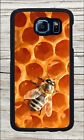 BEE HONEYCOMB PANEL INSECT LIFE CASE COVER FOR SAMSUNG GALAXY S6 -gjk7Z
