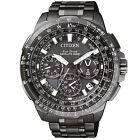 Citizen Satellite Wave - GPS Uhr Titan Chrono Datum Alarm grau CC9025-51E